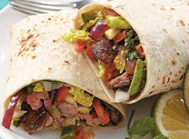 Flank Steak Burritos opskrift fra Verdens Lækreste Opskrifter